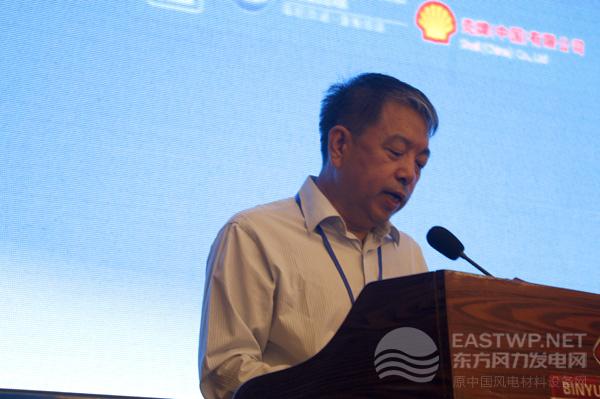 中国农机工业协会风能设备分会祁和生秘书长