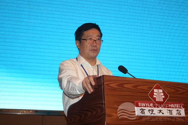 中国农机工业协会风能设备分会杨校生理事长