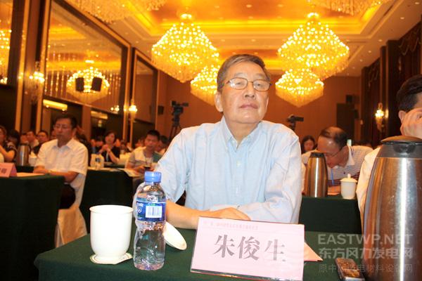 中国可再生能源学会产业工业委员会朱俊生主任