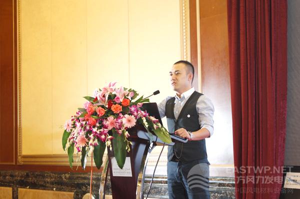 南车陈戚墅堰所新产业发展部风电营销总监陈宗瑞先生