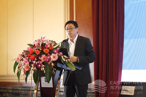 金风科技股份有限公司产品部部长孟庆顺先生
