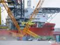 事故 | 海上风电自升式安装船发生吊机坍塌