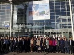中企携新产品新技术亮相汉堡国际风能展
