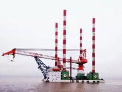 国内首艘大型海上风电运维平台成功交付 (1178播放)