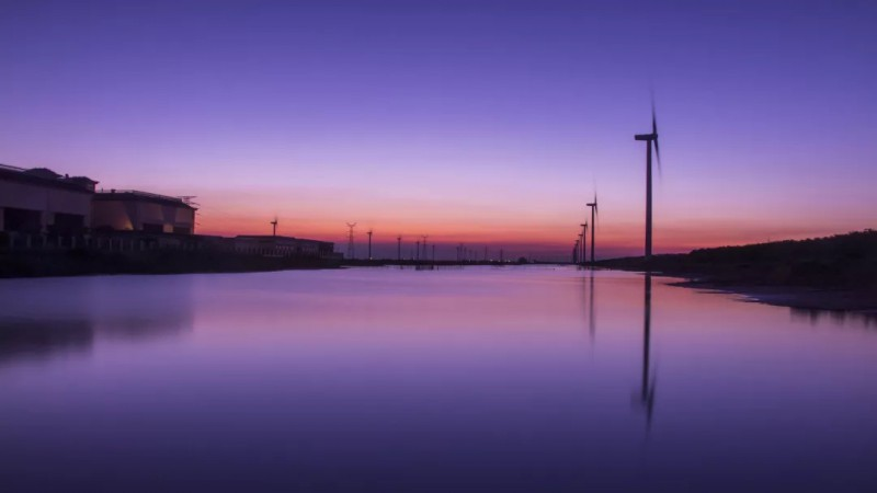 静谧的港湾、江苏海上龙源风力发电有限公司、吴垠峰