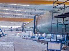 东方风电新研制B760D型叶片顺利通过静力试验