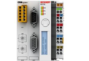 BX5100 | CANopen 总线端子模块控制器