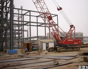 50吨履带式起重机(抚挖QUY50A)