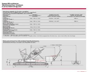 600吨履带式起重机(CC280)