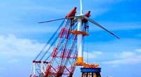 超级工程——SL5000巨无霸海上风力发电机